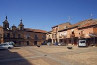Plaza Mayor. Valderas. León