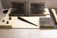 Peine, huso y dedales. Museo de León. León